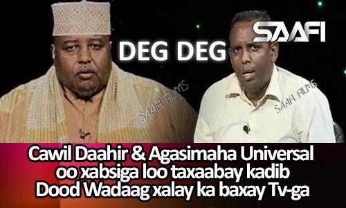 Photo of Cawil Daahir & Agaasimaha Universal oo xabsiga loo taxaabay 02 10 2015