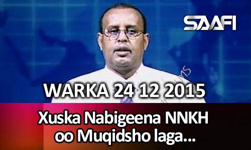 Photo of World News 24 12 2015 Mowliidka Nabigeena NNKH oo Muqdisho laga xusay.