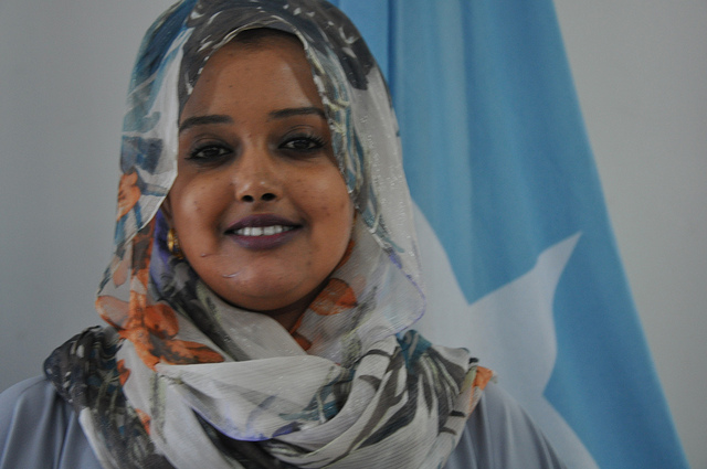 Photo of Somali women can be agents of political change and promoters of peace and security.