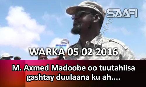 Photo of WARKA 05 02 2016 Agaasimaha Daallo airline oo warbixiyay qaraxii diyaarada ka dhex dhacay & Axmed Madoobe oo tuutahiisa..