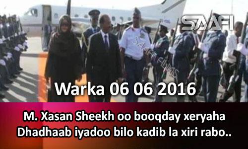 Photo of Warka 06 06 2016 Madaxweyne Xasan oo booqday xeryaha Dhadhaab iyadoo dhawaan la xiri rabo…