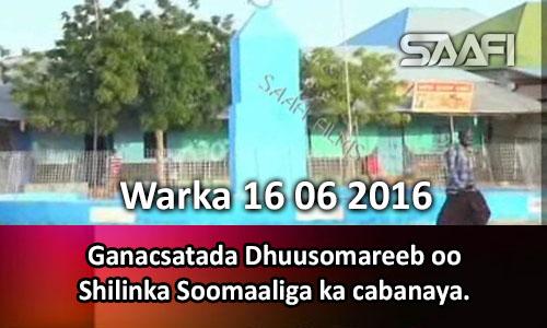 Photo of Warka 16 06 2016 Ganacsatada Dhuusomareeb oo shilinka Soomaaliga ka cabanaya.