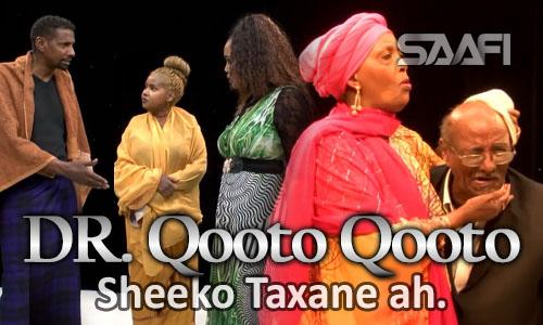 Photo of Dr. Qooto Qooto Sheeko Taxane Ah, Aw Koombe, Faynuus & Xuseen Shire…