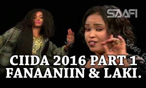 Photo of PART 1 Farxada munaabada Ciida 2016, fanaaniin badan & laki Xaaji Waceys.