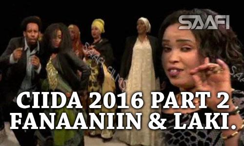 Photo of PART 2 Farxada munaabada Ciida 2016, fanaaniin badan & laki Xaaji Waceys.