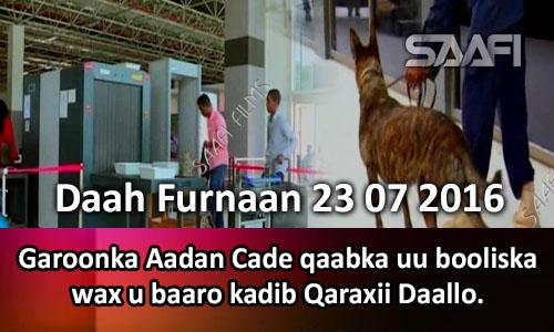 Photo of Garoonka Aadan Cade Qaabka uu booliska qeybihiisa kala duwan u shaqeeyo Daah Furnaan.