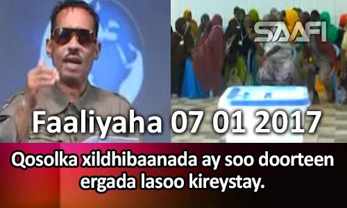Photo of Faaliyaha 07 01 2017 Qosolka xildhibaanada ay soo doorteen ergada lasoo kireystay.
