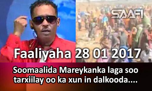 Photo of Faaliyaha 28 01 2017 Soomaalida Mareykanka laga soo tarxiilay oo ka xun in dalkooda…