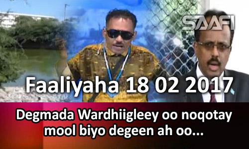 Photo of Faaliyaha 18 02 2017 Degmada Wardhiigleey oo noqotay mool biyo degeen ah oo lagu…