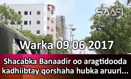 Photo of Warka 09 06 2017 Shacabka Banaadir oo aragtidooda kadhiibtay qorshaha hubka aruurinta.