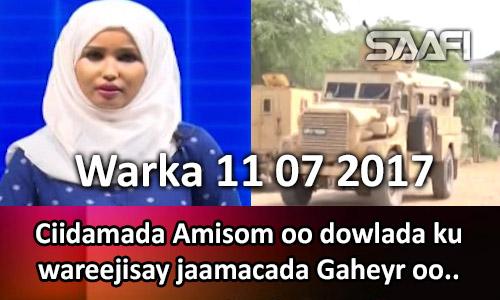Photo of Warka 11 07 2017 Ciidamada Amisom oo dowlada ku wareejisay jaamacada Gaheyr.