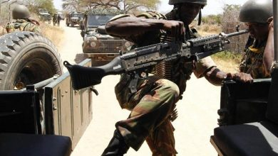 Photo of Kenyan troops withdraws from town in Southern Somalia