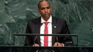 "Photo of Video – PM Kheyre says Somalia is ""rising""; urges climate reform during UN GA"