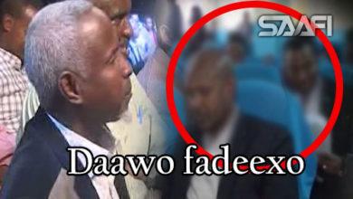 Photo of Dr Xabaab oo si xun u aflagaadeeyay baarlamaanka sheegayna xanuun in uu haayo.