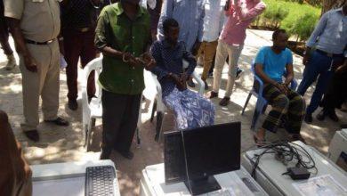 Photo of Daawo Sawirada Rag Shabaab u qaabilsanaa Warqadaha Digniinta oo Muqdisho lagu soo bandhigay