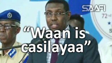 Photo of Wasiirka amniga oo ku hanjabay in uu is casilayo hadaan wax laga qaban dilalka qorsheysan.