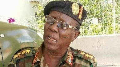 Photo of Senior Somali General Gunned Down in Mogadishu
