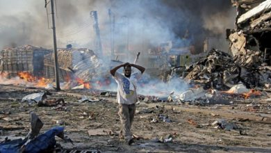 Photo of Death toll in Mogadishu blast climbs to at least 230