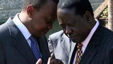 Photo of Uhuru says he will not negotiate with Raila