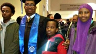 Photo of Somali-American father killed in bombing dreamed of building a place that was more than 'war and guns'