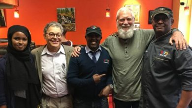 Photo of David Letterman visits St. Paul to interview Somali immigrants for Netflix show