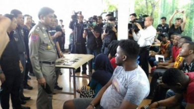 Photo of Thailand Arrests Nearly 10 Somali Nationals In Bangkok