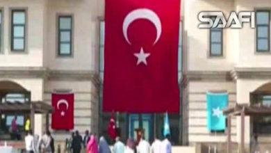 Madaxda dalka oo ka qeyb gashay munaasibada maalinta xoriyada Turkiga oo Muqdisho lagu qabtay