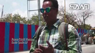 Photo of Sawir qaadayaasha wakaaladaha wararka ee ka hawlgala Muqdisho oo dhibaato badan kasoo gaarta qaraxyada