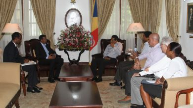 Photo of Somalia's Foreign Minister Meets With Seychelles President