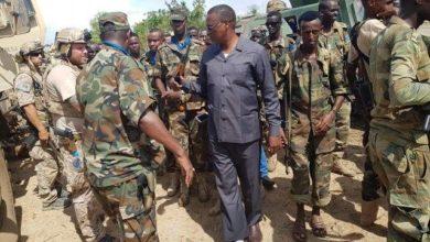 Daawo sawiro Cadaan ka qeyb qaadanaya howlgalka ay bilaabeen Milatariga Somalia