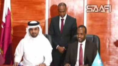 Soomaaliya & Qatar oo kala saxiixday heshiisyo dalka dib loogu dhisayo