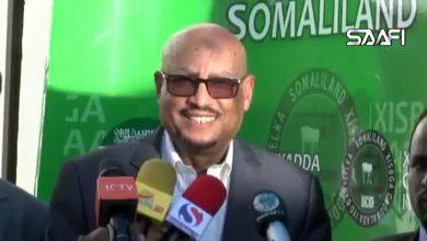 """Photo of Daawo Feysal Cali Waraabe """"Guusha Muuse Biixi waa guushayda, Wadani wuxuu ahaa Soomaali-weyn"""""""