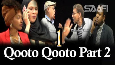 Qooto Qooto Part 2 qeybta 1-aad Sheeko gaaban taxane ah