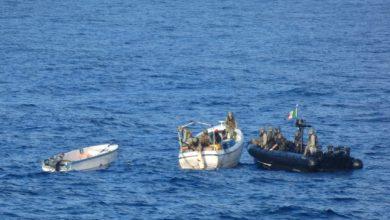 Photo of EU Naval Force Intercepts Suspected Pirates Off Somalia's Coast