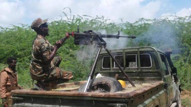 Daawo Sawiro: Dowlada & AMISOM oo Al-Shabaab kala wareegay degaan Muhiim ah