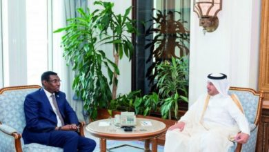 Photo of Qatar Prime Minister Meets Somalia's Minister Of Internal Security