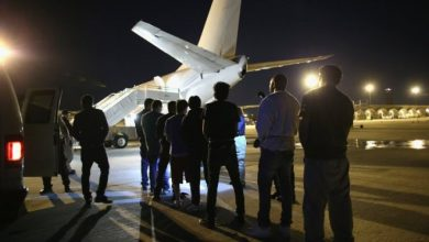 Somalis face 'slave ship conditions' on failed deportation flight
