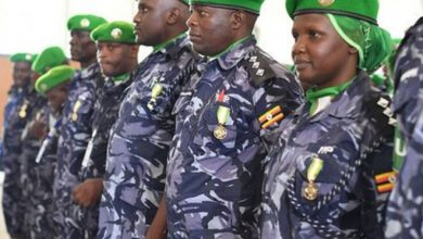 Photo of First batch of Ugandan troops withdrawing from Somalia return home
