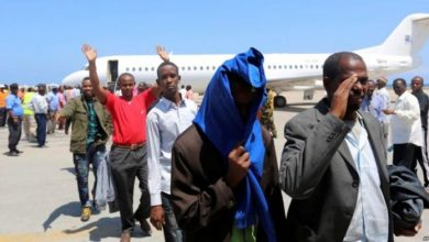 Photo of Somali Immigrants On Deportation Flight Say They Were Abused