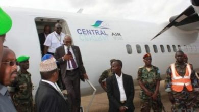 Photo of Somali Parliament Speaker Reaches Baidoa City