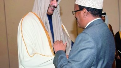 The Emir Of Qatar Meets President Of Somalia The meeting