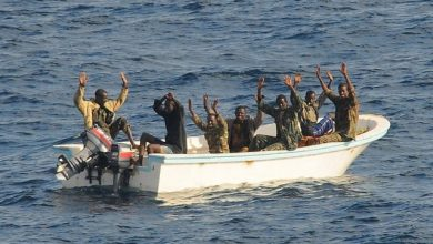 Photo of 6 Suspected Somali Pirates Held In Seychelles Face 30 Years In Prison