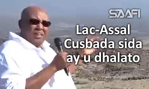 Xaruntii cusbada Lac-assal iyo qaabka ay cusbada u dhalato Hareeri iyo Jabuuti 09 01 2018
