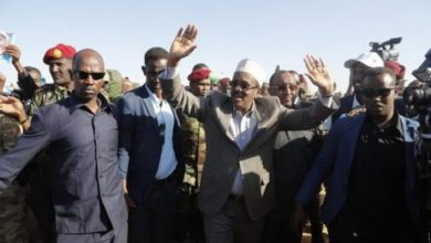 Photo of President Farmajo Arrives In Galkayo On First Leg Of Galmudug Tour