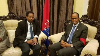 Photo of The Newly Appointed Mogadishu Mayor Meets With Thabit