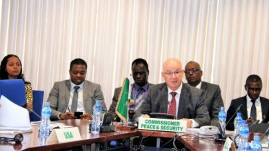 Photo of AU And UN Envoys On The AMISOM Funding Consultations