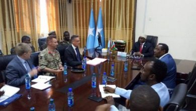 Photo of UK Ambassador Meets With Southwest President In Baidoa