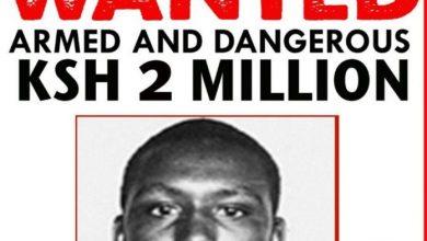 Police Place Sh10 Million Bounty On Five Al Shabaab Suspects