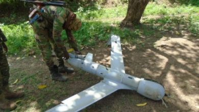 Photo of Al-Shabaab Seizes Crashed Surveillance Drone In Lower Shabelle,