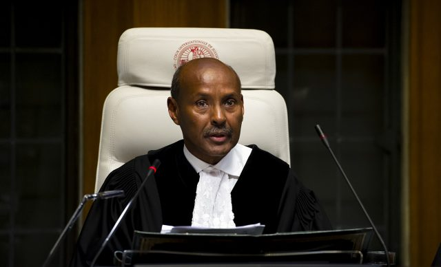Photo of Somali Judge Is Elected President Of International Court Of Justice